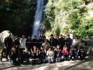 養老の滝にて