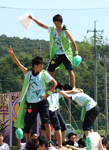 青春の汗輝く体育大会