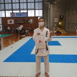 令和2年度島根県高等学校夏季体育大会空手競技の部 大会結果