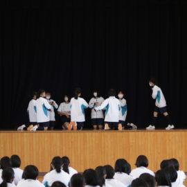 ダンス発表会を行いました。
