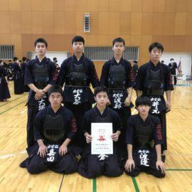 令和2年度島根県高等学校剣道選手権大会の結果です。